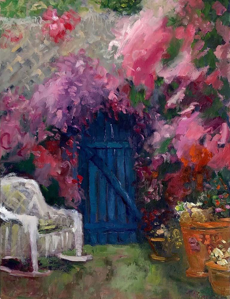 Pat Barrett Impressionist Paintings
