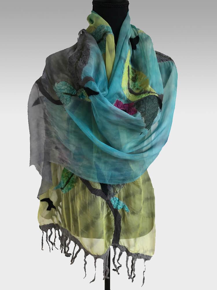 Judy Levine Ott Handmade Scarves