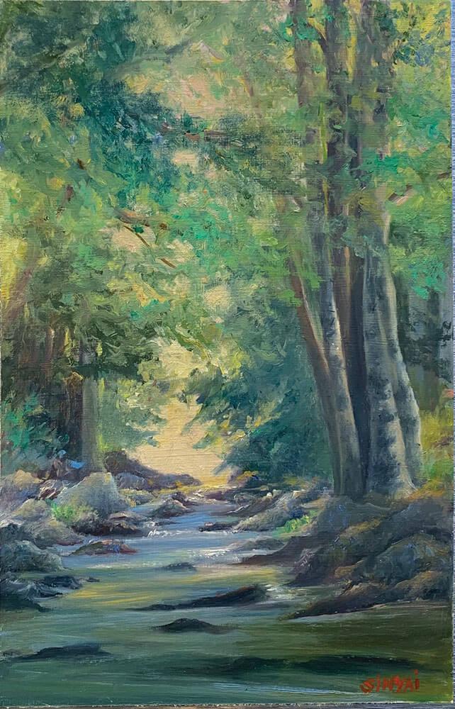 Susan Sinyai Pastel and Oil Paintings